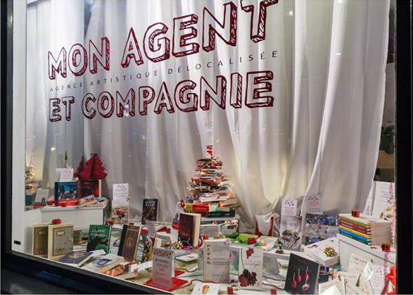 "Vitrine ""Mon Agent et Compagnie"""