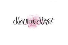 "Logo ""Noémie Nirat"" photographe et illustratrice"