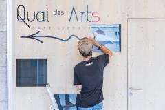 """Logo """"Quai des Arts"""""""